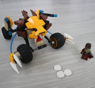 Lego Legends of Chima 70002 Lennox' Lion Attack