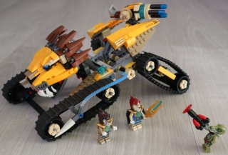 Lego Legends of Chima 70005 Laval's Royal Fighter